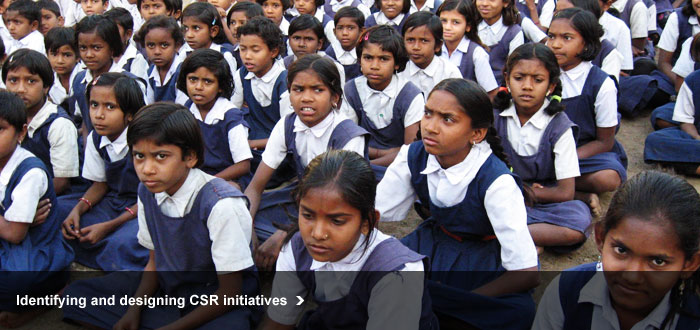 Identifying and designing CSR initiatives